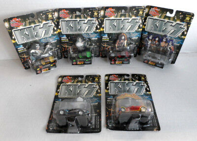 KISS Die-Cast Vehicle Lot of 6 Racing Champions