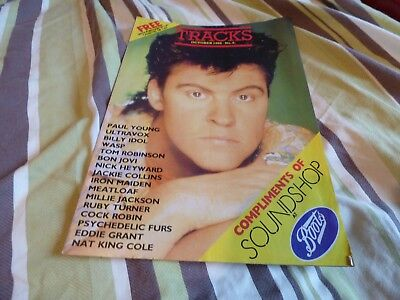 Tracks - Oct 1986, Paul Young / Bon Jovi / Iron Maiden / Ultravox / Top Gun