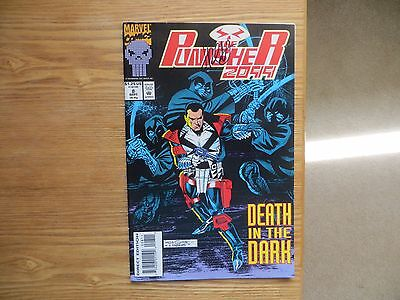1993 Vintage Marvel Comics Punisher 2099 # 8 Signed By Jimmy Palmiotti With Poa