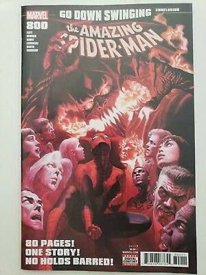 The Amazing Spider-Man #800 (2018) Marvel Alex Ross Red Goblin Cover! 80 Pages!