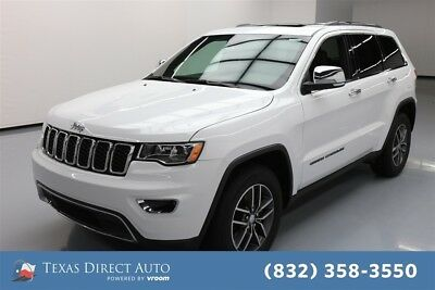 Jeep Grand Cherokee Limited Texas Direct Auto 2018 Limited Used 3.6L V6 24V Automatic RWD SUV