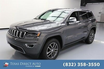 Jeep Grand Cherokee Limited Texas Direct Auto 2017 Limited Used 3.6L V6 24V Automatic RWD SUV Moonroof