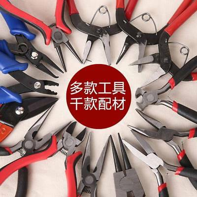 Jewelry Making Tools Beading Pliers Round Flat Wire Side Cutter Kit Auto Tools