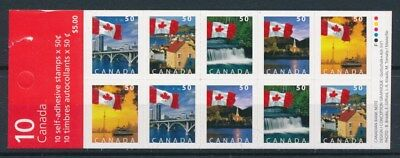 [85729] Canada good complete booklet Very Fine Adhesive