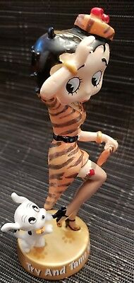 betty boop wild side collectible figurines danbury mint try to tame me
