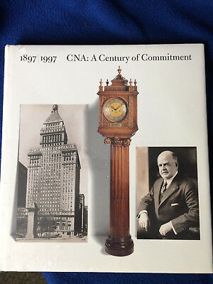 CNA Continental Insurance history book 1897-1997 new, still sealed in plastic