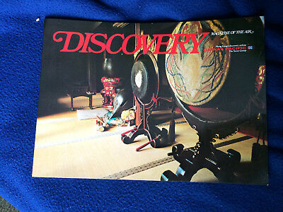 Cathay Pacific airline Discovery Magazine of the Air, November 1978. Hong Kong.