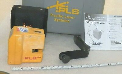 needs repair, As is -  Pacific Laser Systems PLS 180 with  case as shown