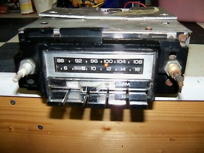 Working 1976 Chevy GMC Truck AM FM Radio GM Delco Serviced