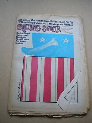 ROLLING STONE magazine US #118 September 1972 Benny Goodman Hunter S. Thompson
