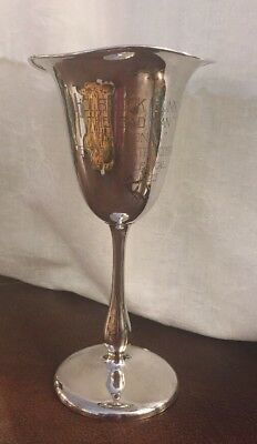 Rare 1923 Sterling Silver Trophy Vase Actor Holbrook Blinn Majestic Theater L.A.