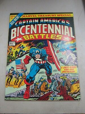 Marvel Treasury Edition Special Captain America Bicentennial Battles Vf 1976