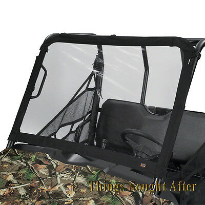 VINYL WINDSHIELD for MIDSIZE 2019 POLARIS RANGER 500 570 EFI EPS EV & 570-4 CREW