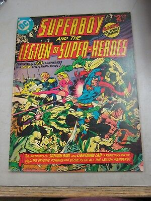 Dc Limited Collectors Edition #c-55 Vg/fn Superboy / Legion Of Super-Heroes 1978