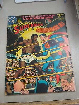 DC LIMITED COLLECTORS EDITION #C-56 VERY GOOD+ SUPERMAN vs MUHAMMAD ALI 1978