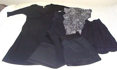 MATERNITY Mixed Lot of 5 SIZE MEDIUM/6 - DRESS - Skirt -PANTS - Top & Shorts