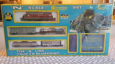 Vintage N Scale Minitrain Set by Lima AHM  New unopened in the box 4614E