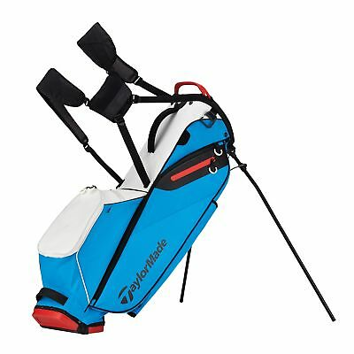 New TaylorMade Golf- 2017 Flextech Lite Stand Bag White/Blue Red