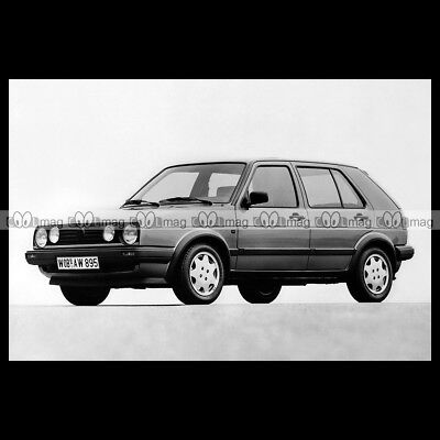 #pha.012129 Photo VW VOLKSWAGEN GOLF GT 5-DOOR (TYP 1G) MK2 1987-1992 Car Auto