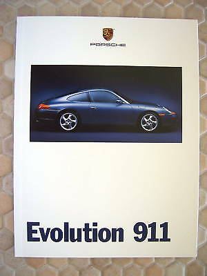 Porsche 996 911 Carrera Coupe & Cabriolet First Prestige Sales Brochure 1999 Usa