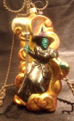 Collectible Polonaise Wicked Witch Of West Ornament Kurt S. Adler Wizzard Of Oz