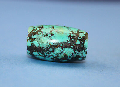 27*16 MM Oriental Vintage Unusual Tibetan Old dzi turquoise Bead Free shipping