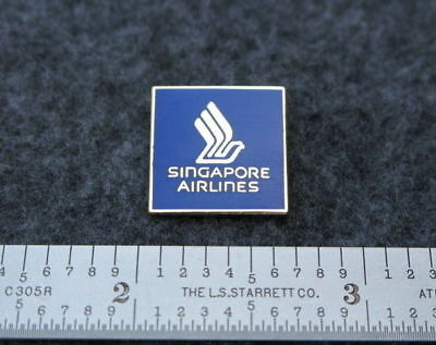 Singapore Airlines Logo Pin.