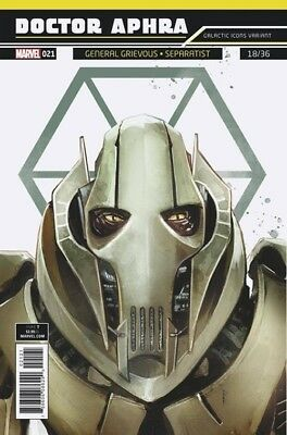 STAR WARS DOCTOR DR APHRA 27 ROD REIS GALACTIC ICONS R2D2 VARIANT NM