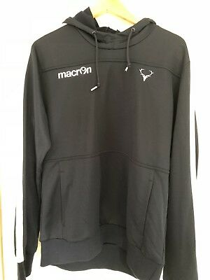 Macron Ross County Training Hooded Top Xl Nwt