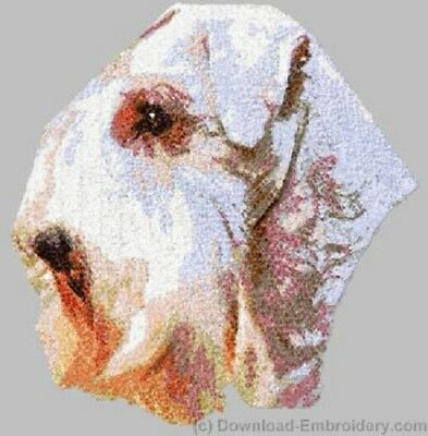 Large Embroidered Zippered Tote - Sealyham Terrier DLE2517