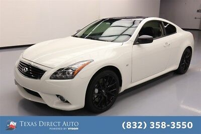 Infiniti Q60 Sport Limited 2dr Coupe 6M Texas Direct Auto 2015 Sport Limited 2dr Coupe 6M Used 3.7L V6 24V Manual RWD