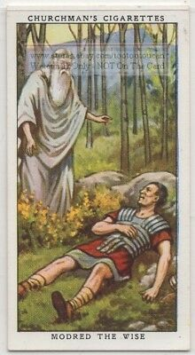 Druid Modred The Wise Wales England 1930s Trade Card