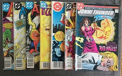DC Comics Collection - Lot of 7 - Arak, Arion, Warlord, Blasters, Titans, Thunde