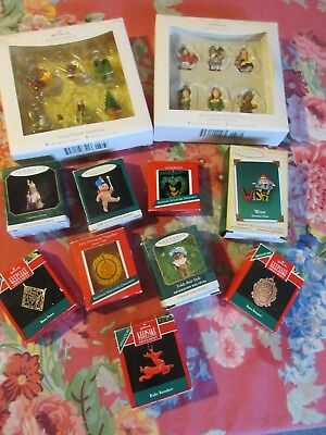 ~~1989-2007, Group of Miniature Hallmarks, In Boxes, All Different~~
