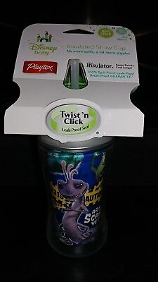 Disney Baby Pixar Monsters Inc Insulated Sippy Cup 9 Oz Are You Scared Yet