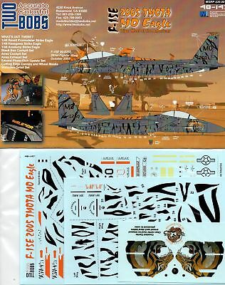 "Twobobs Decals 48-147 F-15E 2005 TMOTA 391st FW ""MO"" Eagle 1/48"