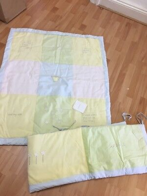 Izziwotnot Wishes Full Quilt & Bumper Baby Bedding Cot Bed Brand New