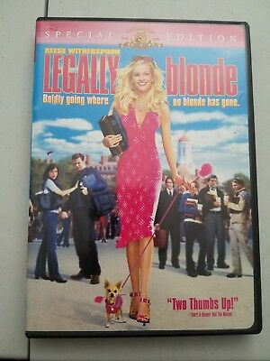 Legally Blonde (DVD, 2001,special edition)