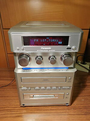 Panasonic Sa Pm30Md - Mini-Cd-Minidisc-Tape-Rds-Receiver - All-In-One