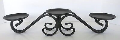 Longerberger Wrought Iron 3 Tier Candle Stand