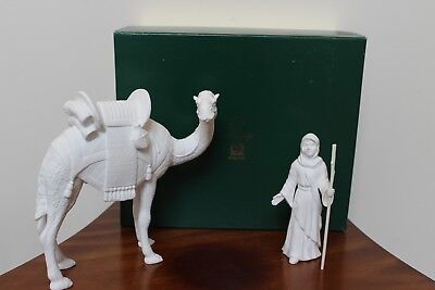 Lenox The Nativity Bone China Camel And Driver With Box