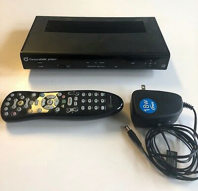 CENTURYLINK PRISM IPH8005 Pace DVR Cable Box w/Power Supply & Remote