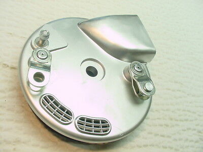 1971 72 Bsa Triumph Conical Front Wheel Brake Plate W/ Shoes Very Nice Pt# W3655