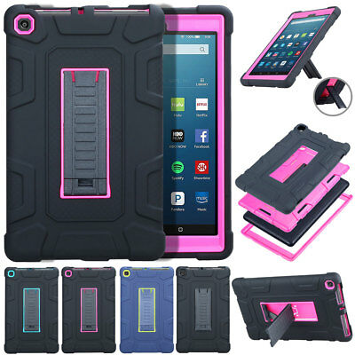 For Amazon Kindle Fire HD 8 7th Generation 2017 Tablet Case Shockproof Rugged