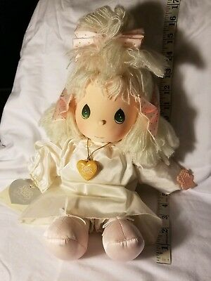 Vintage Precious Moments Applause 1985 plush Angie angel doll