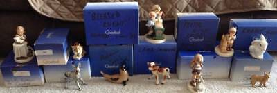 Goebel Boxed Porcelain Figurine HUMMEL Collection-10 Different Animal Themed-MIB