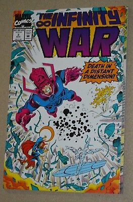 Marvel Comics The Infinity War #3 Death In A Distant Dimension!