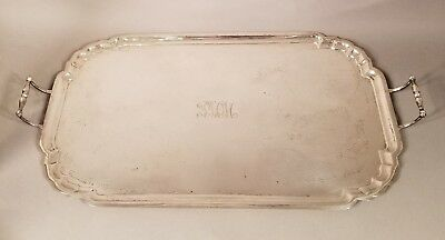 Antique Vintage Sterling Silver Grogan Co. Pittsburgh Tray Platter 41.84 Ounces