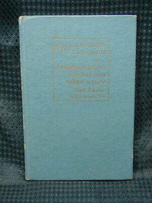 OPC 1962 Standard Catalog of Canadian Coins Tokens & Paper Money J E Charlton