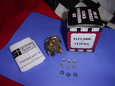 Original Electric Car Clock Repair Kit. 104-10T   This Is A New Nos Movement!